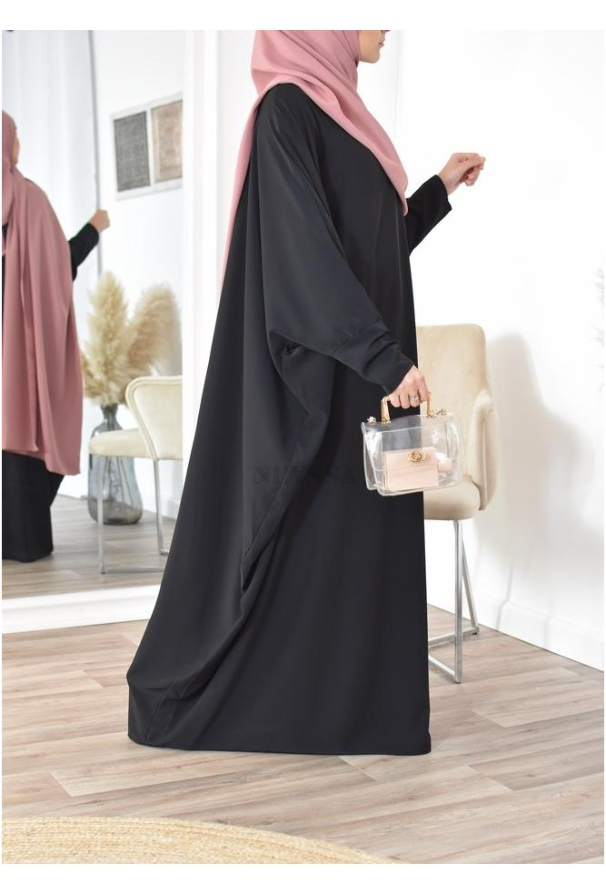 Abaya papillon saoudienne fluide