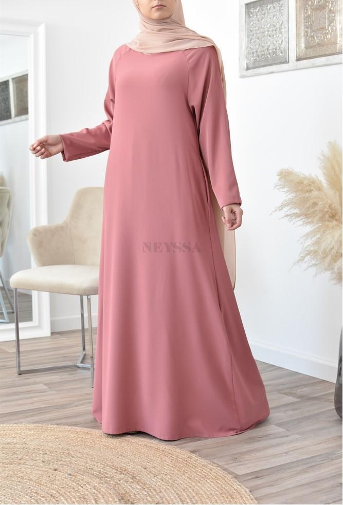 Long, flowing flared Abaya Modest Fashion