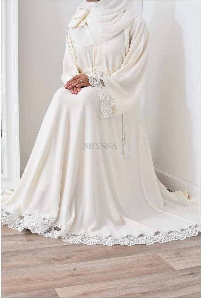 Flared Abaya Dubai Perfect for veiled woman special occasions