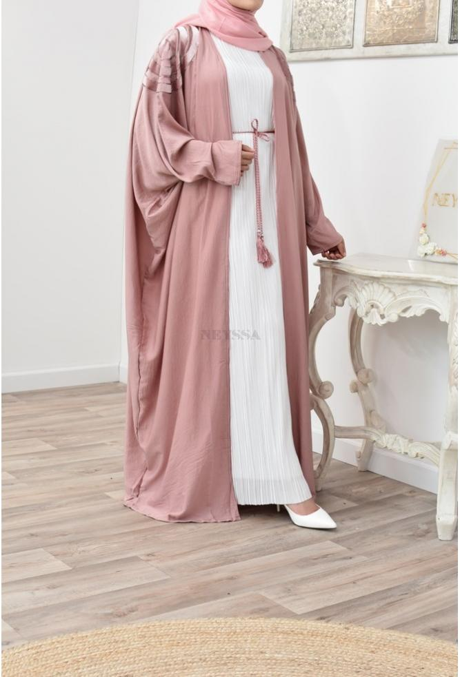 Long Kimono évasée pour femme voilée musulmane