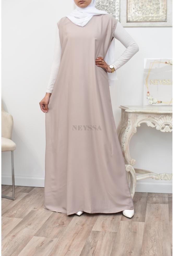 sleeveless abaya